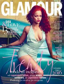 Glamour 2016 luty okładka